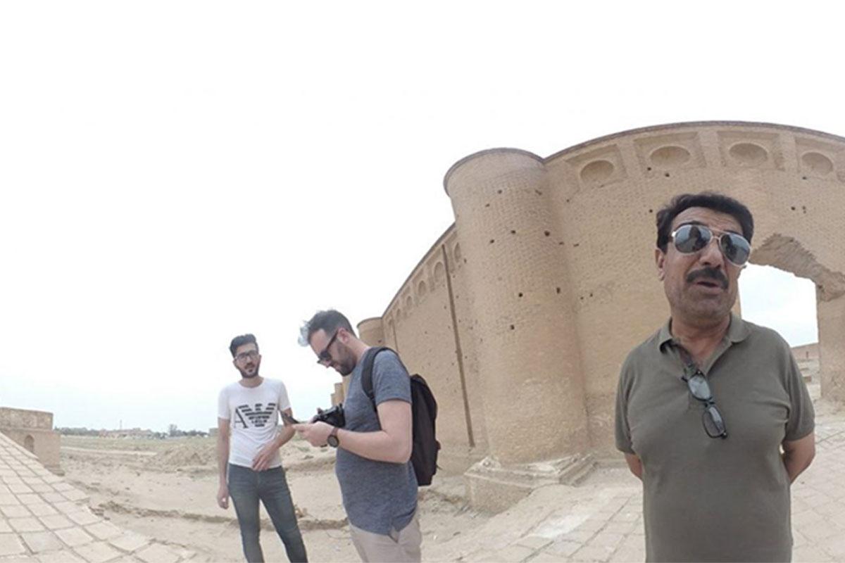 360 video of Iraq