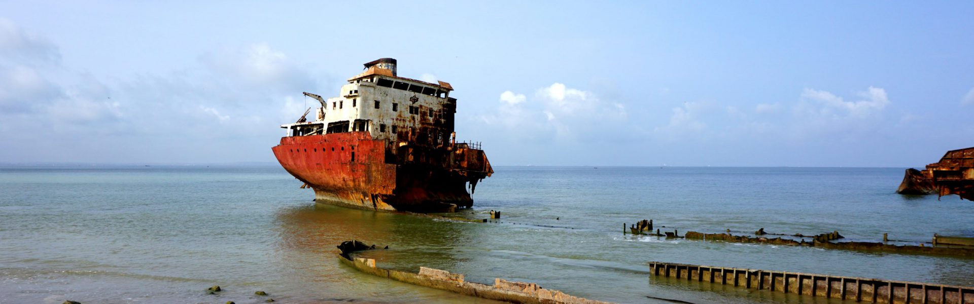 Shipwreck Beach in Angola