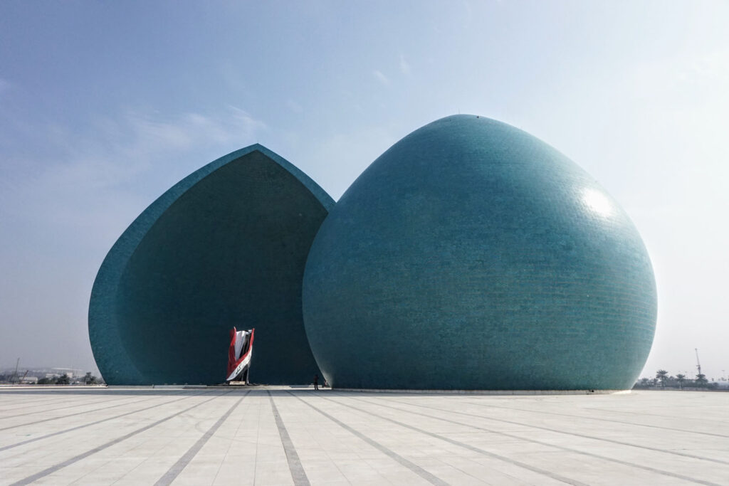 Al Shaheed Monument in Baghdad, Iraq
