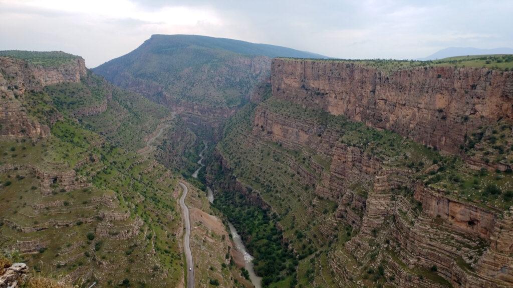 View of Rawanduz in Kurdistan, Iraq