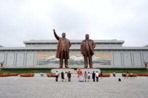 Mansudae Grand Monument in Pyongyang, North Korea